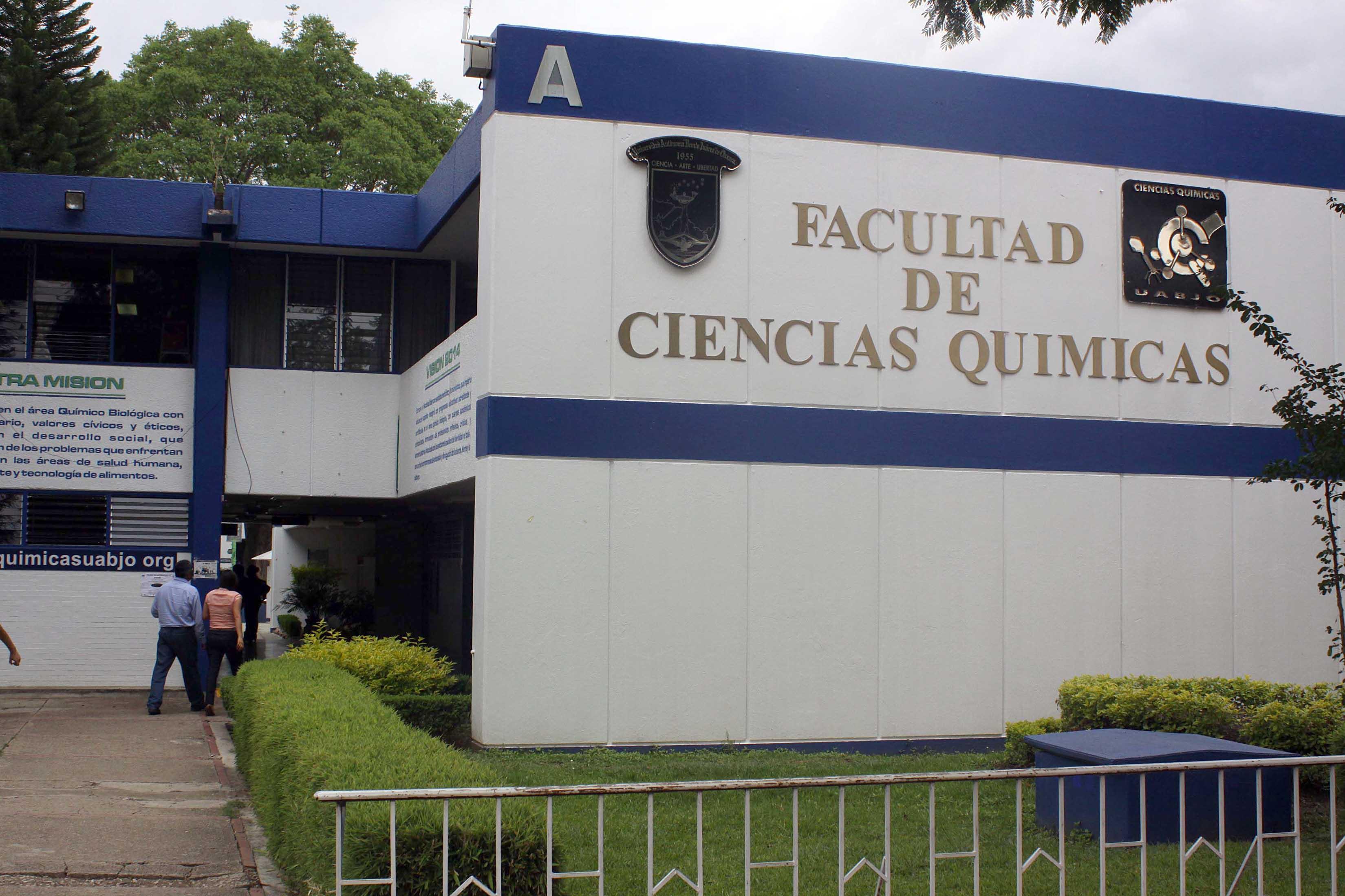 FACULTAD DE CIENCIAS QUIMICAS
